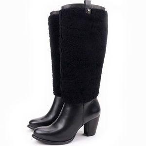 Beautiful women heeled Ugg boots